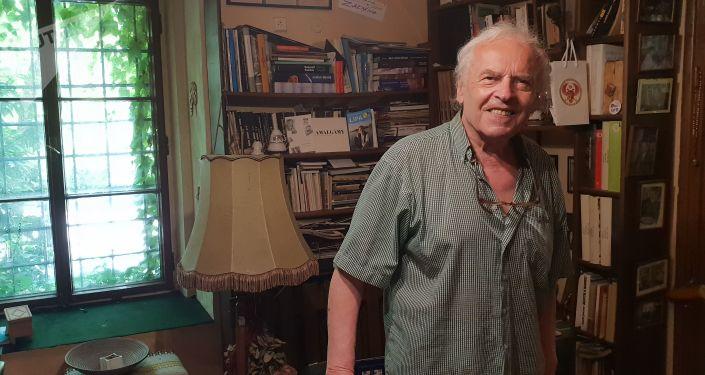 Karel Srp, bývalý disident, hudební publicista, předseda Jazzové sekce