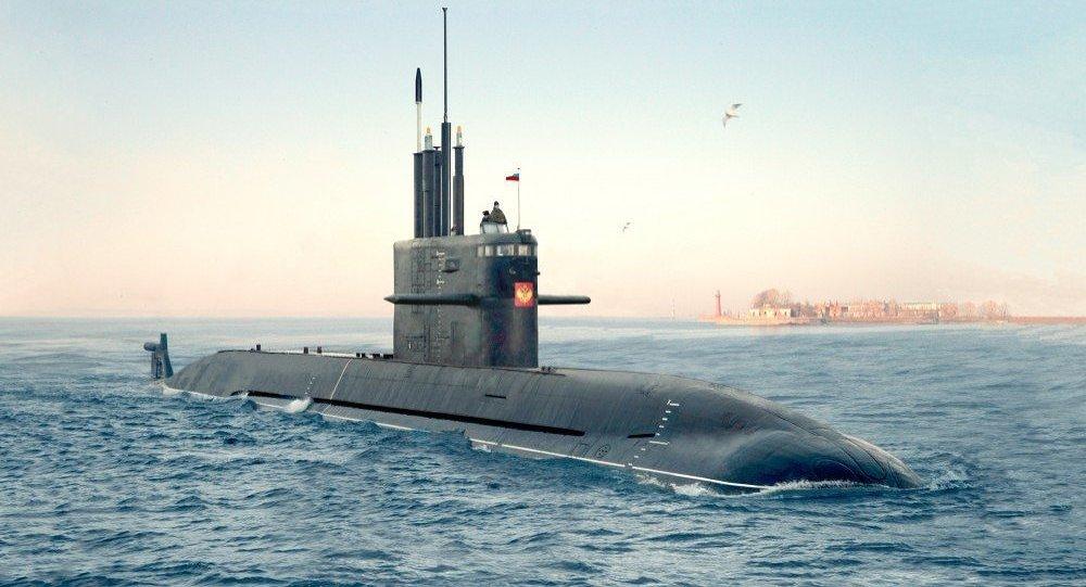 Ruská ponorka Amur 1650