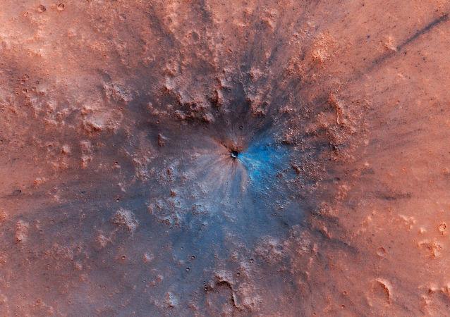 Mars vyfocený stanicí Mars Reconnaissance Orbiter