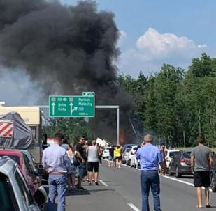 Nehoda na dálnici D2