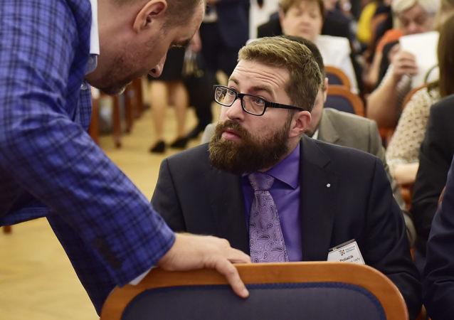 Slovenský poslanec Martin Poliačik