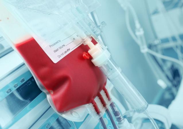 Krev dárce. Ilustrační foto