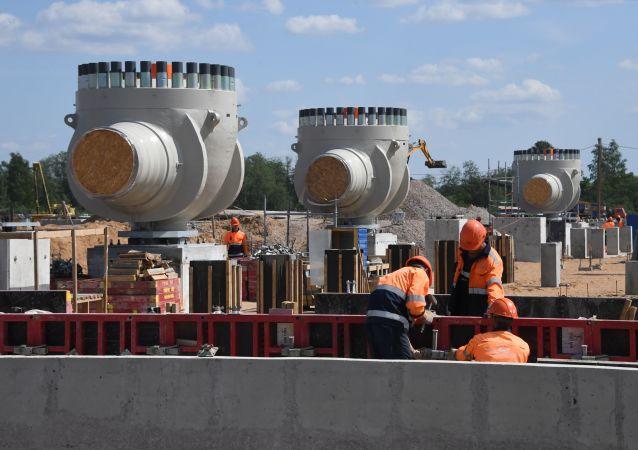 Výstavba plynovodu Nord Stream 2