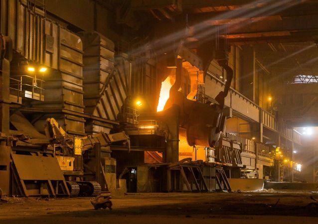 Cech hutního závodu ArcelorMittal. Ilustrační foto