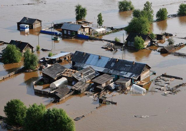 Povodeň v Irkutské oblasti, Rusko
