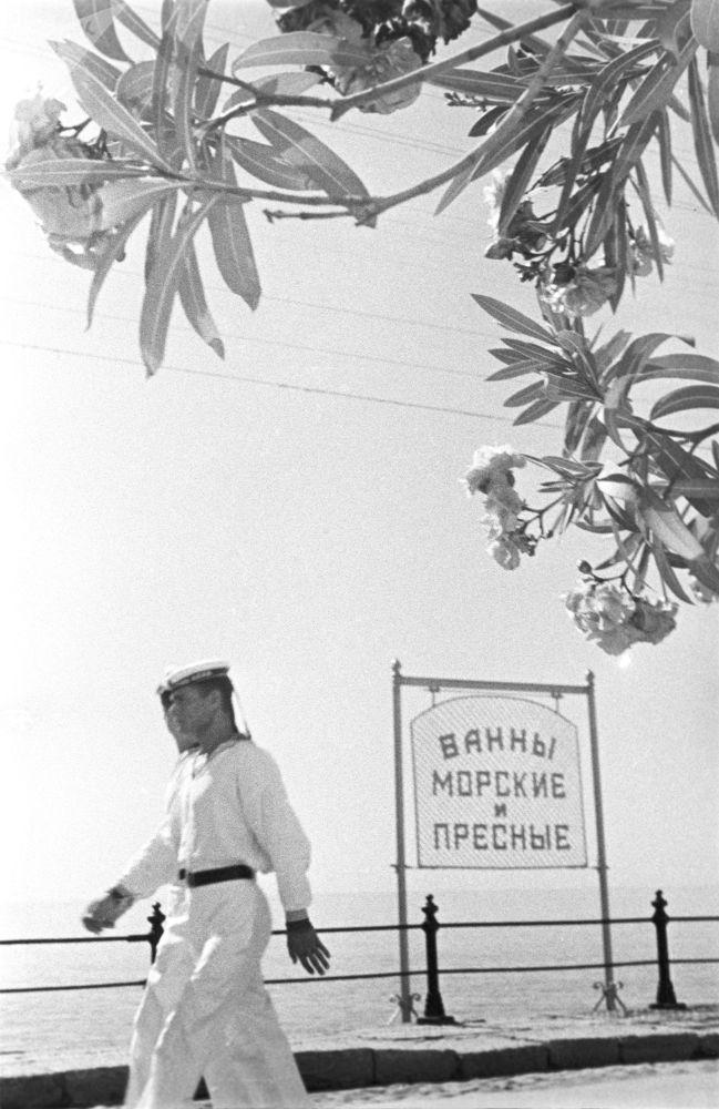 Nábřeží v Jaltě, 1939.