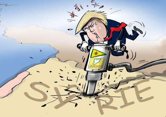 USA využívají Kurdy k rozdělení Sýrie