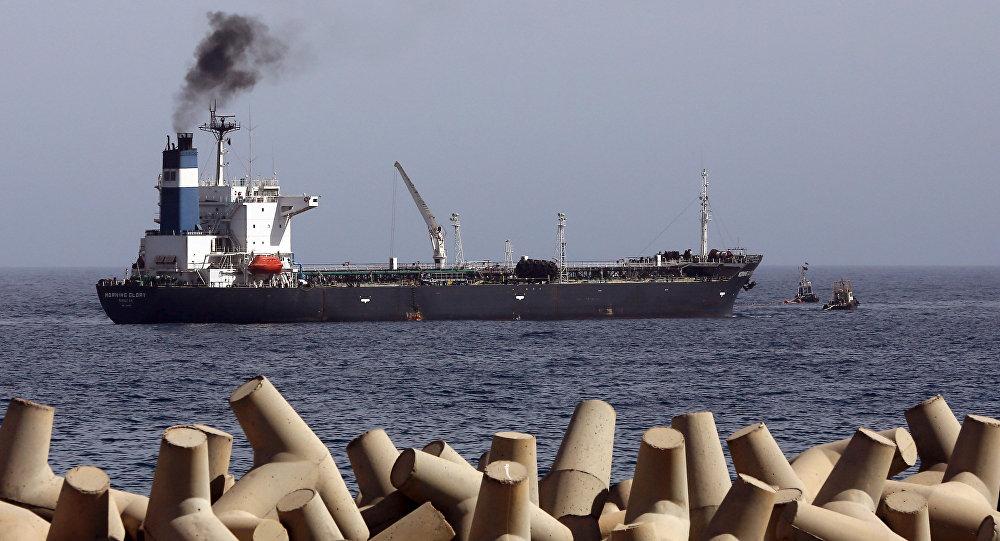 Ropný tanker Morning Glory