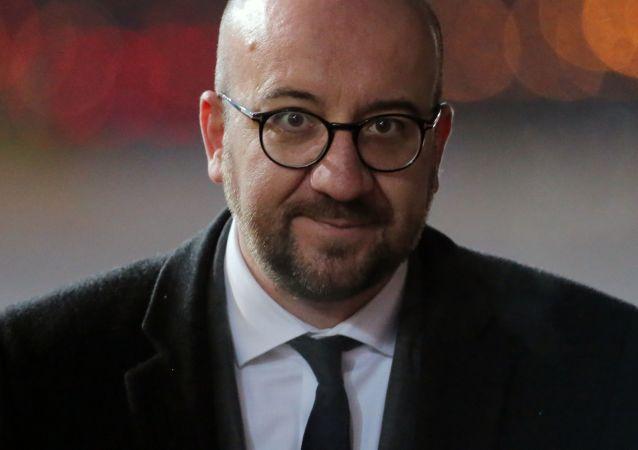Zvolený předseda Evropské rady Charles Michel
