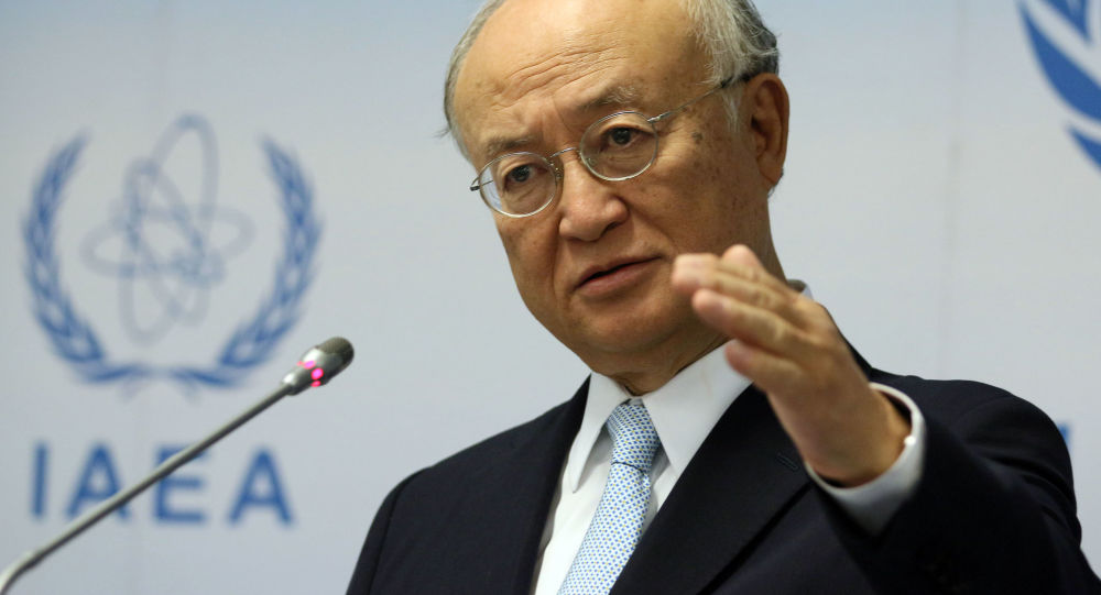 Generální ředitel Mezinárodní agentury pro atomovou energii (MAAE) Jukija Amano