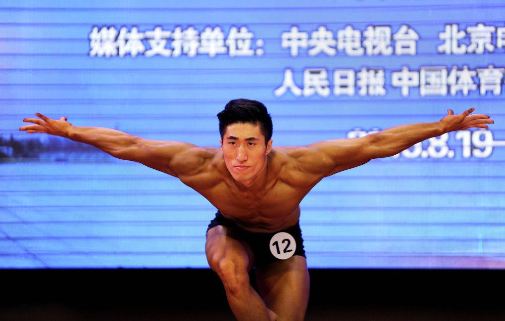 Čínská moc: soutěž kulturistů