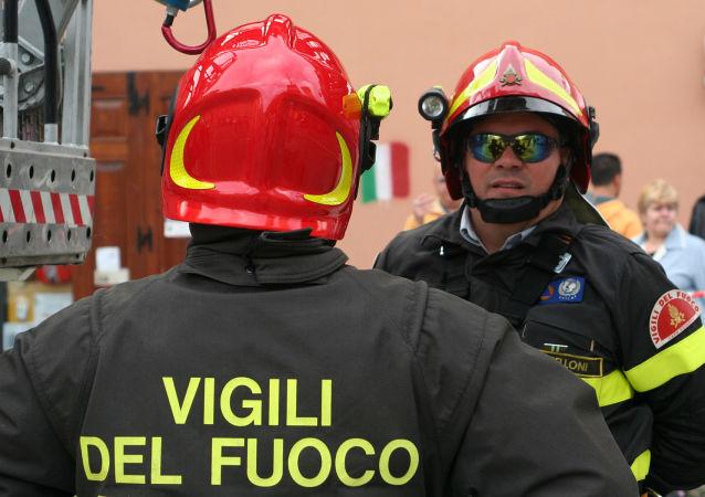 Italští hasiči