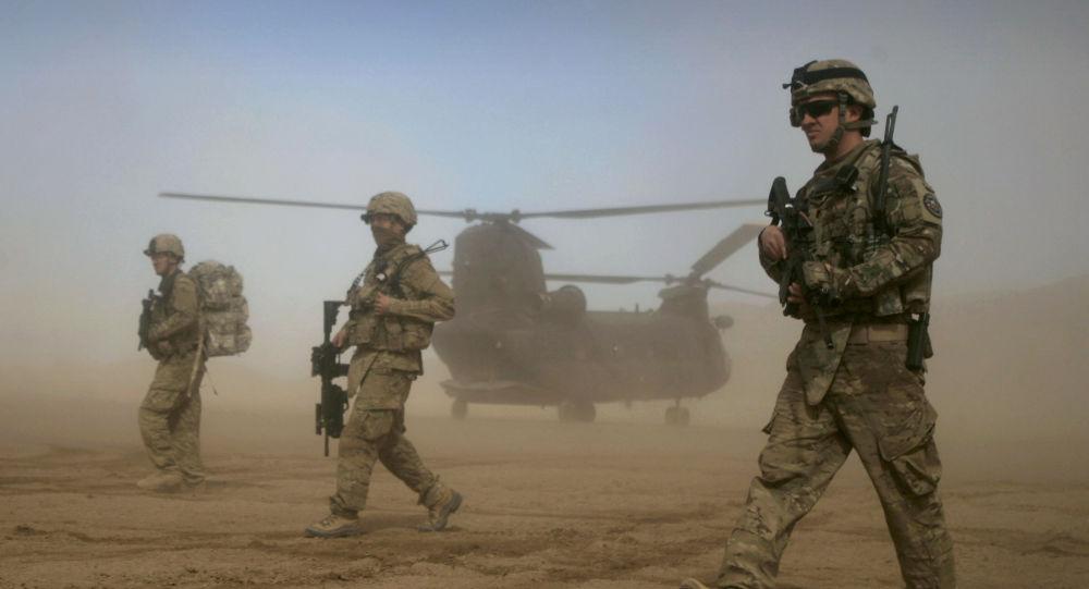 Američtí vojáci v afghánském Shindandu