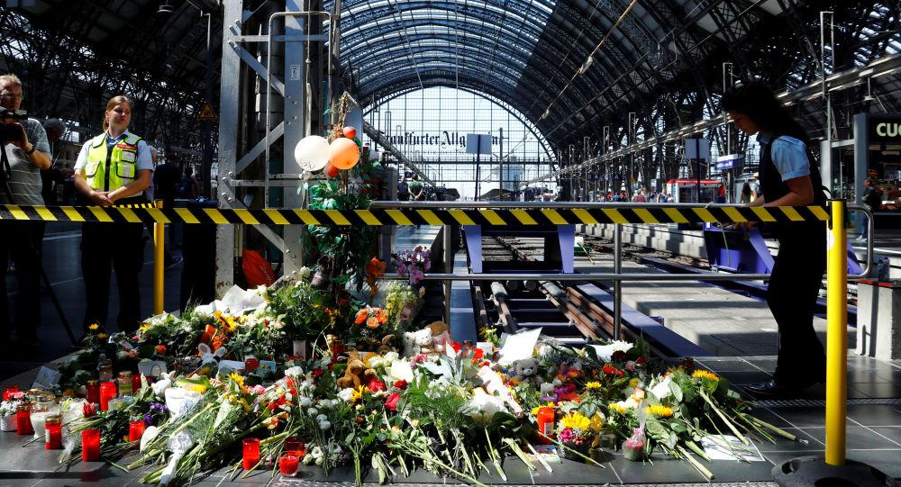 Hlavní nádraží ve Frankfurtu nad Mohanem