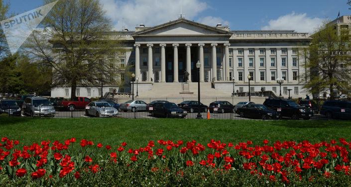 Budova amerického ministerstva financí