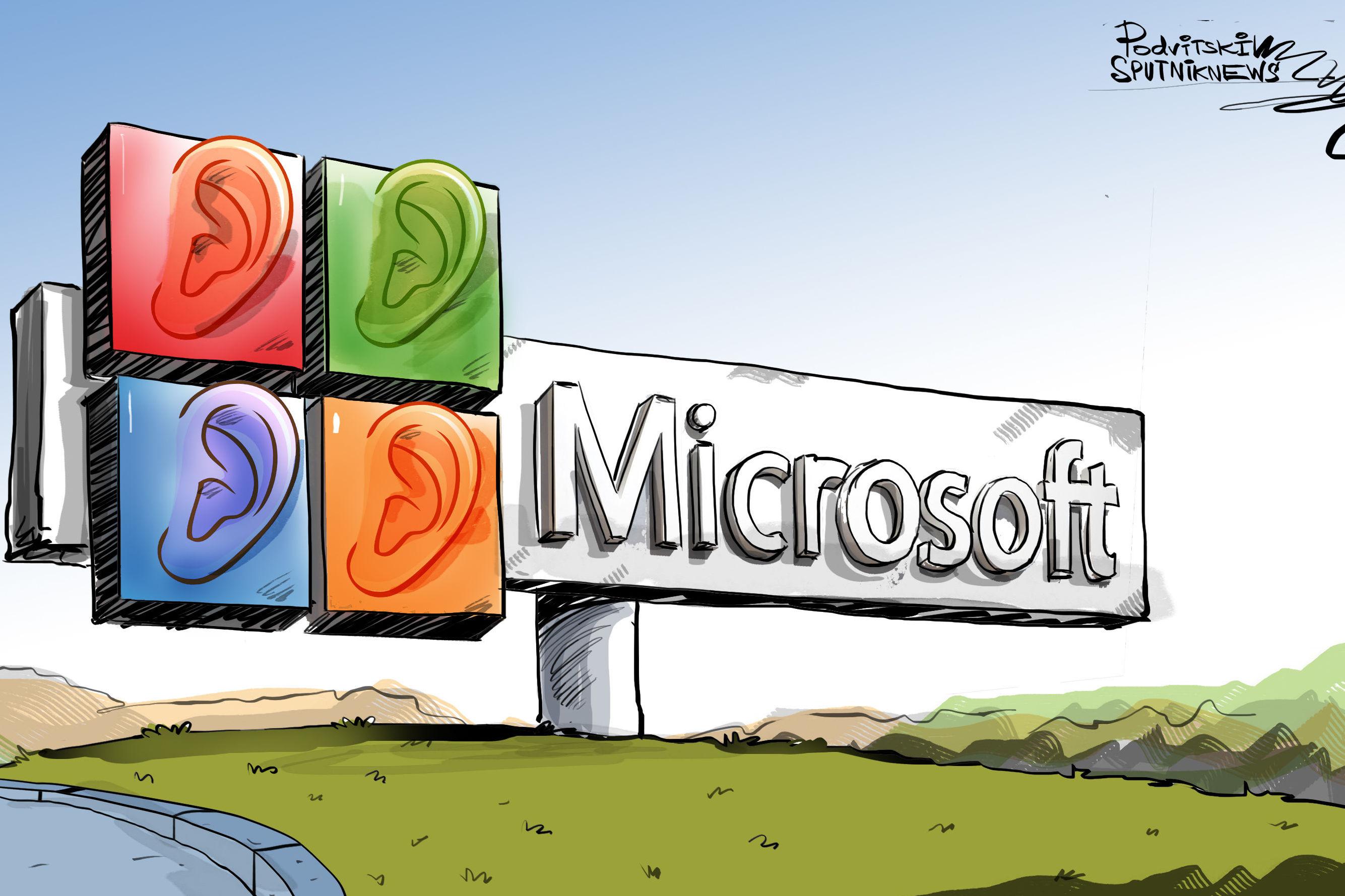 Velké ucho od Microsoftu