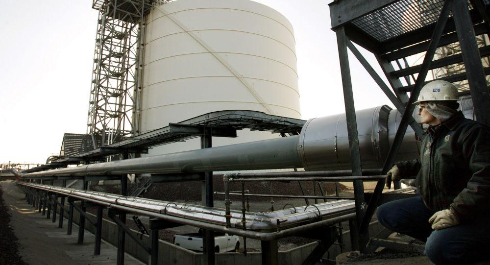 Skladování zkapalněného plynu