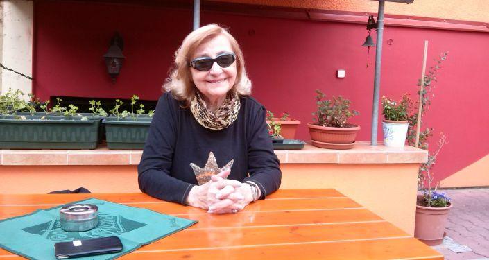Zpěvačka Zorka Kohoutová