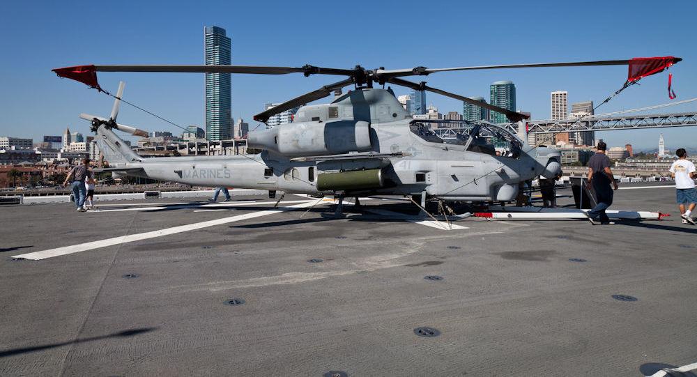Americký víceúčelový vrtulník AH-1Z Viper