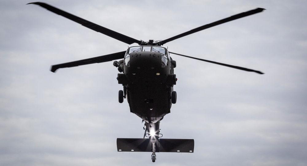 Americký vrtulník UH-60M Black Hawk