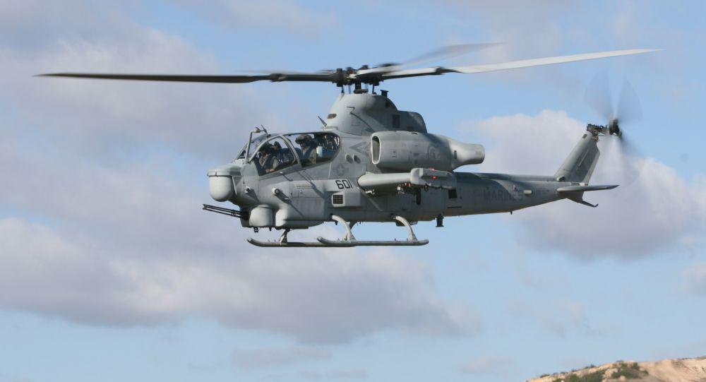 Americký vrtulník Bell AH-1Z Viper