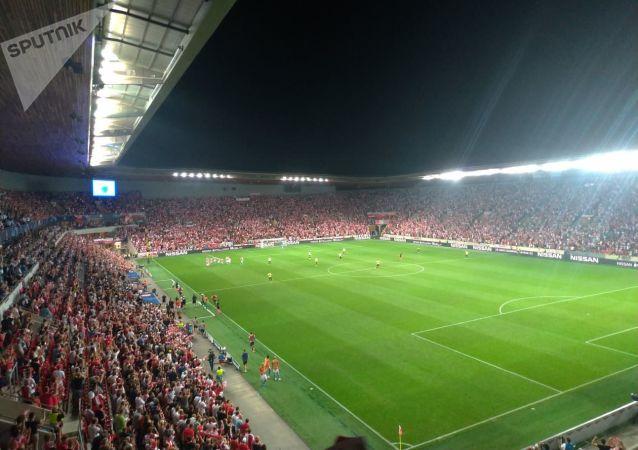 Slávisté se ujímají vedení 1:0 a jsou krok od Ligy mistrů
