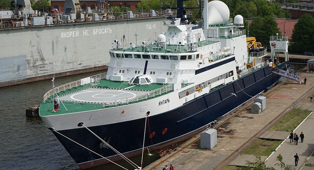 Oceánografická výzkumná loď (OVL) Jantar