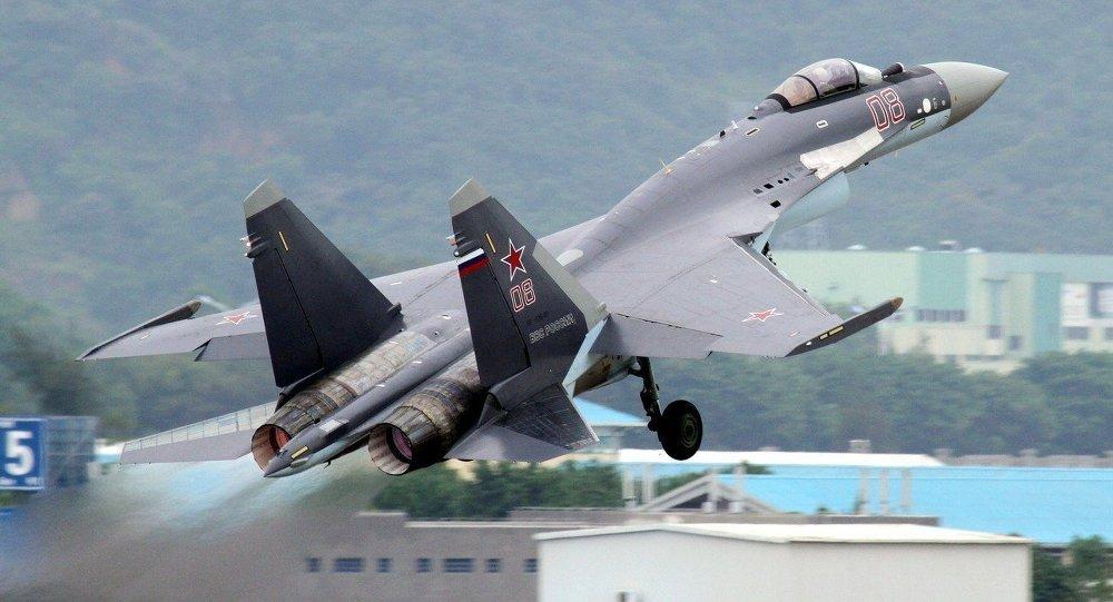 Ruská stíhačka Su-35