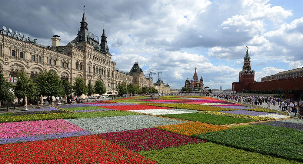 Festival květin na Rudém náměstí