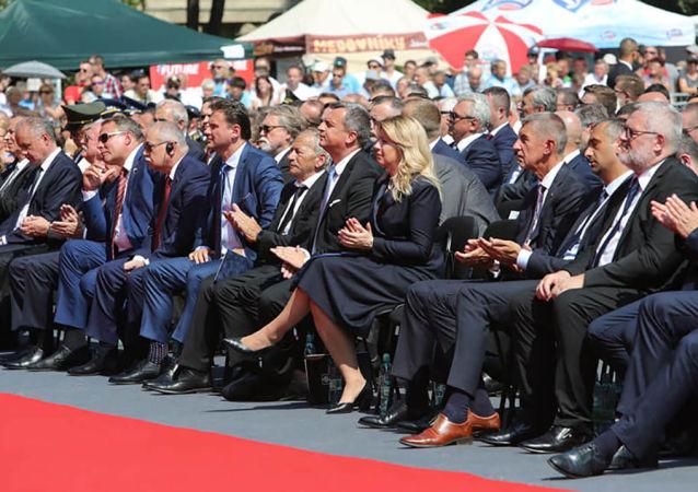Oslavy 75. výročí Slovenského národního povstání