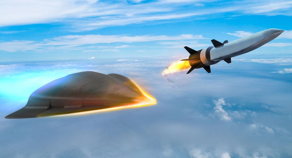 Obrazek hypersonické zbraně, kterou vyvije společnost Raytheonem pro Ministerstvo obrany USA
