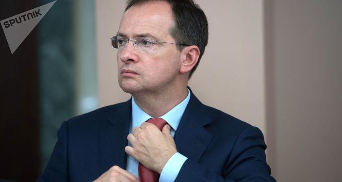 Ruský ministr kultury Vladimir Medinský