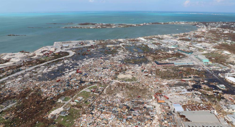 Zpustošené Bahamské ostrovy po zásahu hurikánu Dorian