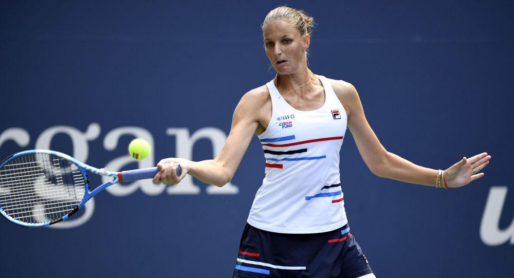 Karolína Plíšková na US Open