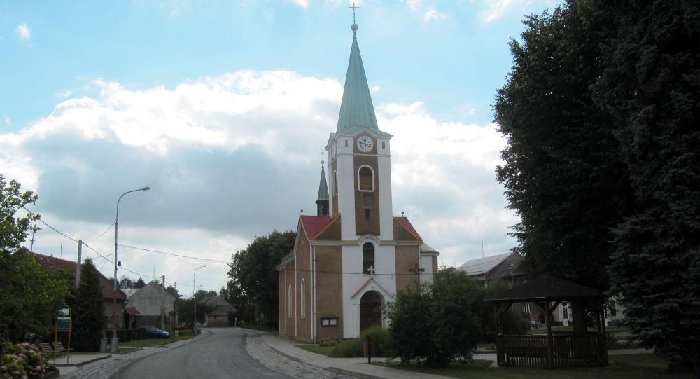 Obec Hruška