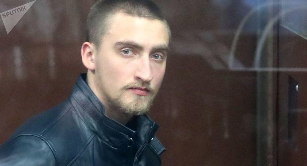 Ruský herec Pavel Ustinov v Tverském soudu