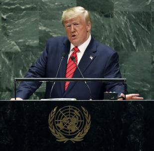 """""""Spojené státy nehledají konflikt s žádným jiným národem."""" Trump perlí v OSN"""