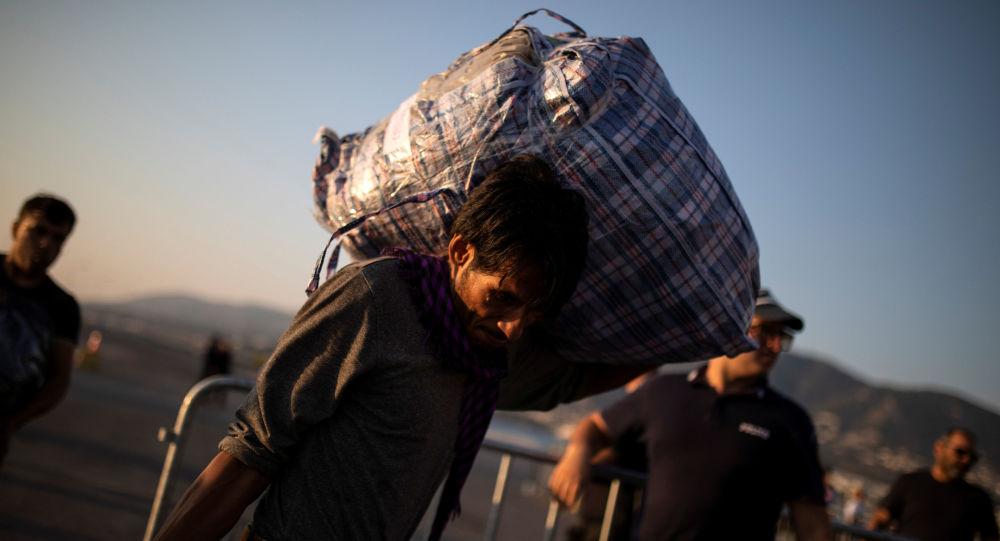 Migrant původem z Afghánistánu