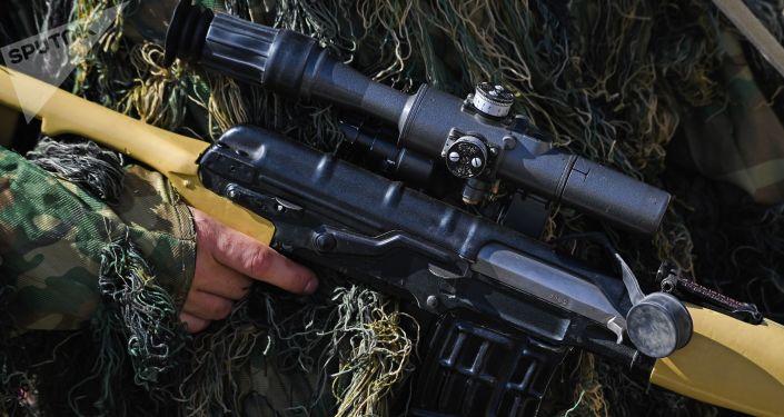 Odstřelovací puška Dragunova (SVDK)