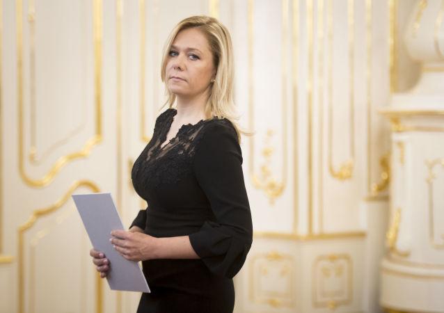 Ministryně vnitra SR Denisa Saková