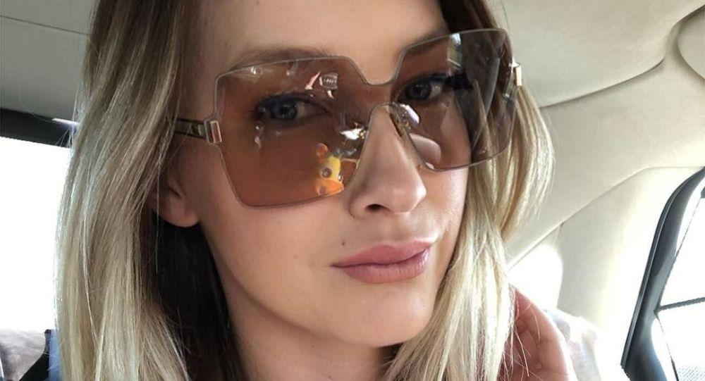 Česká modelka Dominika Mesarošová