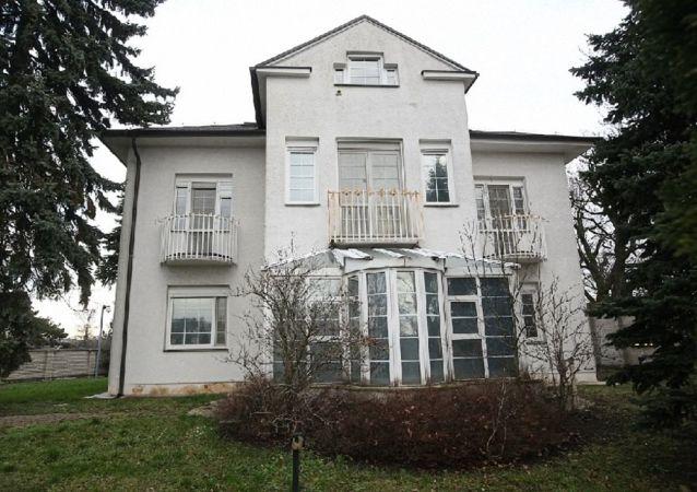 Prezidentská vila na Slavíně