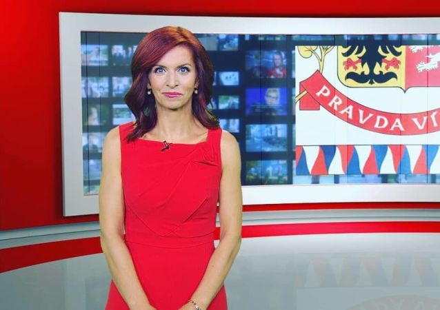 Česká moderátorka Nora Fridrichová