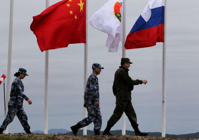 Mořská vojenská cvičení Ruska a Číny. Archivní foto