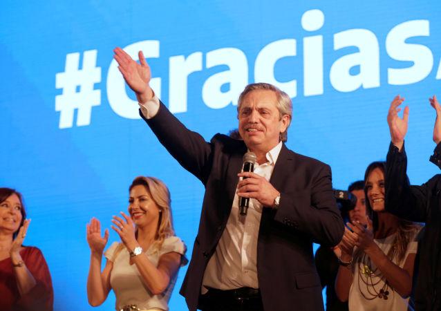 Nový argentinský prezident Albert Fernández