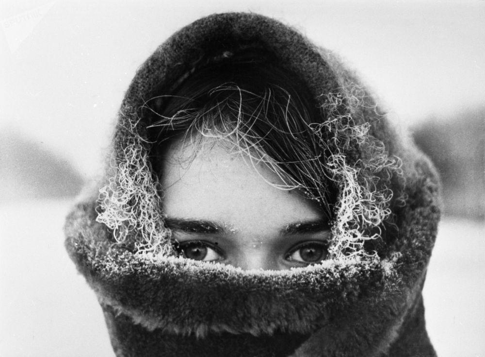 Zima, fotograf Jurij Luňkov,1970