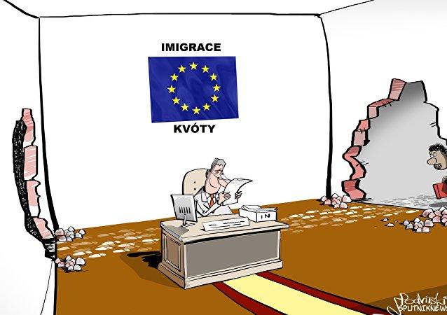 Uprchlická krize? Všechno je pod kontrolou