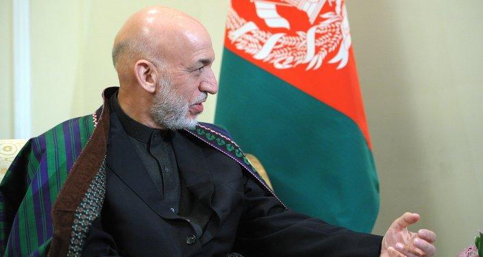 Bývalý afghánský prezident Hámid Karzaj