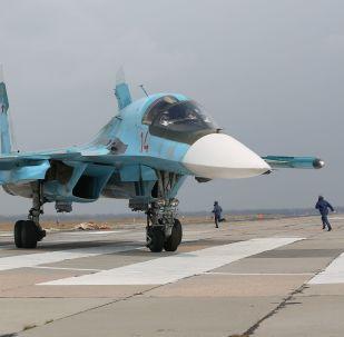 Víceúčelový nadzvukový stíhací bombardér Su-34