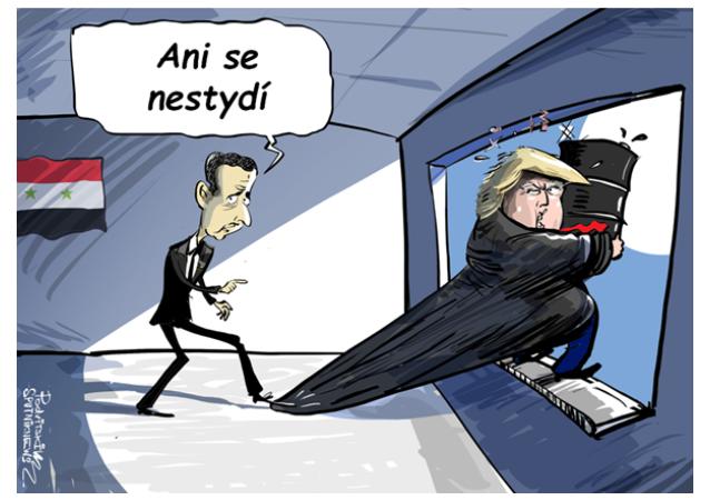 Podle Asada je Trump nejlepší americký prezident